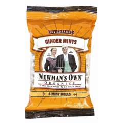 BFG61860 - Newman's Own OrganicsGinger Mint Roll