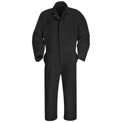 UNFCT10BK-LN-48 - Red KapMens Twill Action Back Coverall