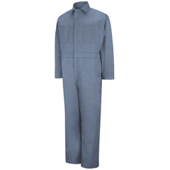 UNFCT10PB-RG-48 - Red KapMens Twill Action Back Coverall
