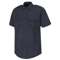 UNFHS1715-L-XXL - Horace SmallShort Sleeve 100% Cotton Button-Front Shirt