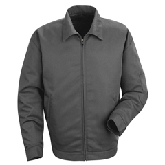 UNFJT22CH-RG-S - Red KapMens Slash Pocket Jacket