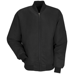 UNFJT38BK-RG-XL - Red KapMens Solid Team Jacket