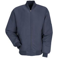 UNFJT38NV-RG-XXL - Red KapMens Solid Team Jacket