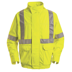 UNFJY38HVB-RG-M - Red KapMens Hi-Vis Bomber Jacket - Class 2 Level 2
