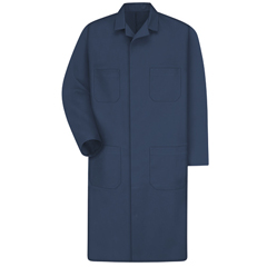 UNFKT30NV-RG-58 - Red KapMens Shop Coat