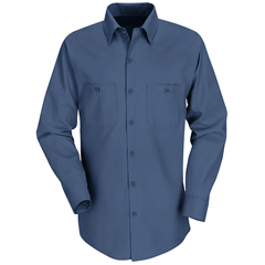 UNFSP14DB-RG-XL - Red KapMens Industrial Work Shirt