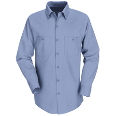UNFSP14LB-RG-L - Red KapMens Industrial Work Shirt