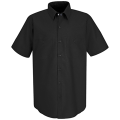 UNFSP24BK-SS-S - Red KapMens Industrial Work Shirt
