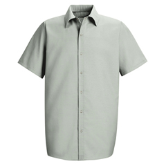 UNFSP26LA-SS-M - Red KapMens Specialized Pocketless Work Shirt