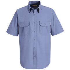 UNFSP60MB-SS-3XL - Red KapMens Solid Uniform Dress Shirt