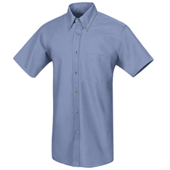 UNFSP80LB-SS-5XL - Red KapMens Poplin Dress Shirt