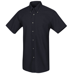 UNFSP80NV-SS-M - Red KapMens Poplin Dress Shirt
