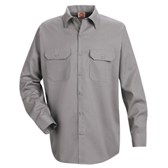 UNFST52SV-RG-4XL - Red KapMens Utility Uniform Shirt