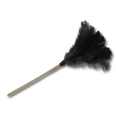 UNS20BK - Professional Ostrich Feather Duster