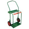 Anthony High-Rail Frame Dual-Cylinder Carts, 25W X 46H, Solid Rubber Wheels ORS 021-85-10