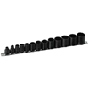"Armstrong Tools 11 Piece 3/8"" Dr. Deep Socket Sets ARM 069-19-150"
