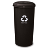 Recycling Containers: Witt Industries - Tall Round Can Recycling Wastebasket