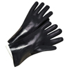 Anchor Brand 14 In Long PVC-Coated Jersey-Lined Gloves, Black ANR 101-7400