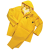 Anchor Brand Three-Piece Rainsuit, Jacket/Hood/Overalls, 0.35 mm PVC/Poly, Yellow, 5X-Large ANR 101-9000-5XL