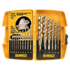 DeWalt Pilot Point® Gold Ferrous Oxide Drill Bit Sets DEW 115-DW1956