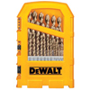 Dewalt: DeWalt - Pilot Point® Gold Ferrous Oxide Drill Bit Sets