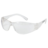 Crews Checklite Safety Glasses, Clear Uncoated Lenses CRW 135-CL010