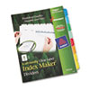Ability One AbilityOne™ Avery® SkilCraft® Index Dividers NSN 6006978