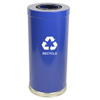 Witt Industries One Hole Indoor Recycling Container WIT 15RTBL-1H