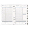 Franklin Covey FranklinCovey® Original Green Dated Weekly/Monthly Planner Refill FDP 3541814