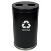recycling and trash liners: Witt Industries - Two Hole Large Indoor Recycling Container