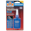 Devcon Medium Strength Blue Threadlockers, 10 mL , 3/4 In Thread, Blue ORS 230-24210