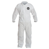 DuPont Proshield 10 Coveralls White With Elastic Wrists And Ankles, 3XL, 25/Bx DUP 251-PB125SW-3XL