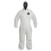 DuPont Proshield 10 Coveralls White With Attached Hood, 2XL, 25/Bx DUP 251-PB127SW-2XL