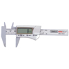 General Tools Digital/Fraction Electronic Calipers, 1 In-3 In/150 mm GNT 318-1433