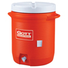 Rubbermaid Water Coolers, 10 Gal, Orange RUB 325-1610-IS-ORAN