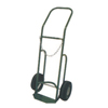 Saf-T-Cart 750 Series Carts, Holds 1 Cylinder, 9 1/2 In Dia., Flat Free Pneumatic Wheels STC 339-751-10