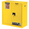 Safety storage & security carts: Justrite - Yellow Safety Cabinets for Flammables