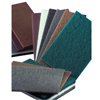 Carborundum Hand Pads, Medium, Aluminum Oxide, Brown ORS 481-05539574000