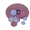 Abrasives: Norton - Metalite Large Diameter Coated-Cloth PSA Discs