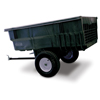 Janitorial Carts, Trucks, and Utility Carts: Structural Foam Tractor/ATV Trailer