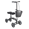 Walkers: Drive Medical - Dual Pad Steerable Knee Walker with Basket, Alternative to Crutches