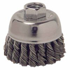 Weiler General-Duty Knot Wire Cup Brushes WEI 804-13025