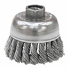 Weiler General-Duty Knot Wire Cup Brushes WEI 804-13286