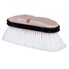 Weiler Truck Wash Brush, 9 1/2 In Foam Block, 2.5 In Trim L, Flagged White Polystyrene WEI 804-44510