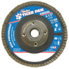 Weiler Type 29 Tiger Paw Angled Flap Discs, 4 1/2, 60 Grit, 5/8 Arbor, 13,000 RPM WEI 804-51125