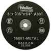 Weiler Vortec Pro™ Small Type 1 Reinforced Wheels WEI 804-56061
