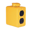 Daniel Woodhead Super-Safeway® Outlet Box Receptacles ORS 840-3000