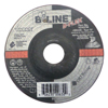 Bee Line Flexible Depressed Center Wheel, 4 1/2 Dia, 1/8 Thick, 7/8 Arbor, 30 Grit BEE 903-45A27M