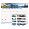 At A Glance AT-A-GLANCE® Harbor Views Panoramic Desk Pad AAG DMD14532