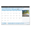 At A Glance Tropical Compact Monthly Desk Pad AAG DMD17332